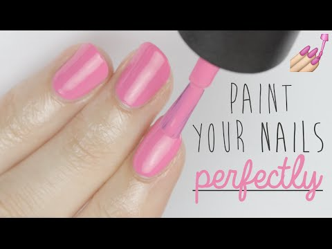 paint your nails perfectly