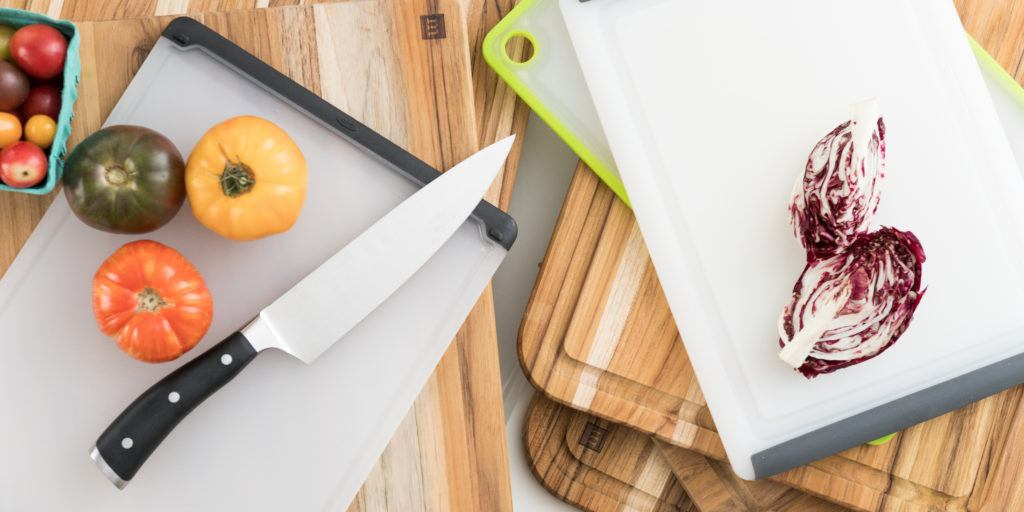 I love wooden cutting boards